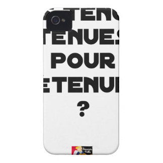 THIN BEHAVIOURS FOR HELD? - Word games iPhone 4 Case