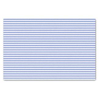 Thin blue and white stripes - Tissue paper