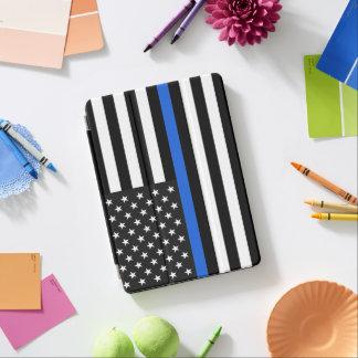 Thin Blue Line American Flag iPad Air Cover