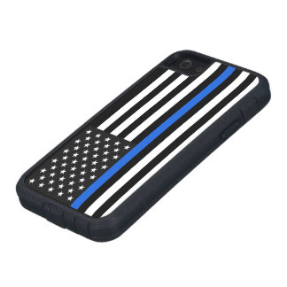 Thin Blue Line American Flag iPhone 5 Cases