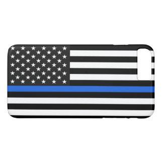 Thin Blue Line American Flag iPhone 8 Plus/7 Plus Case