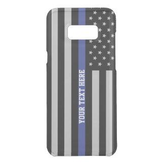 Thin Blue Line - American Flag Personalized Custom Uncommon Samsung Galaxy S8 Plus Case