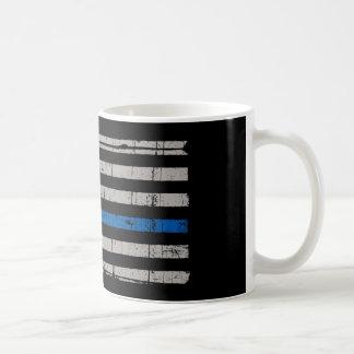 Thin Blue Line Basic White Mug