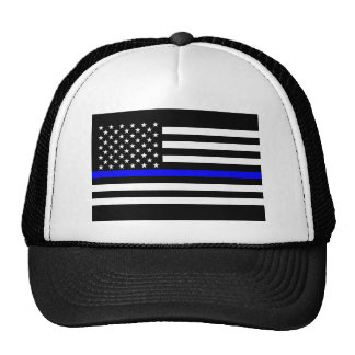 Thin Blue Line Display Decor Cap