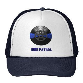 Thin Blue Line Divisional Symbol - Bike Patrol Cap