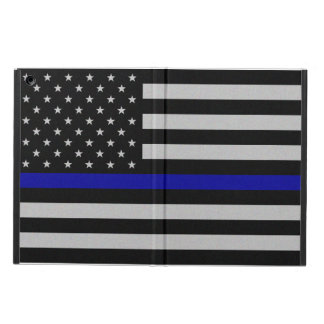 Thin Blue Line Flag iPad Air Case - No Kickstand