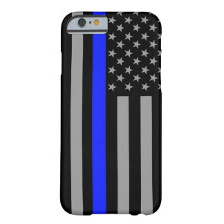Thin Blue Line Flag Iphone 6/6s Cell Phone Case