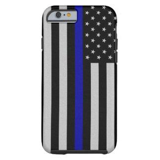 Thin Blue Line Flag Tough iPhone 6 Case
