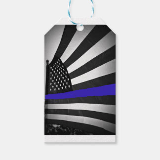 Thin Blue Line Gift Tags