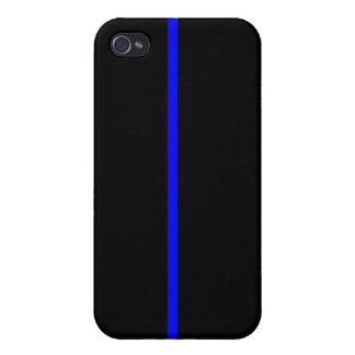 Thin Blue Line iPhone 4/4S Case