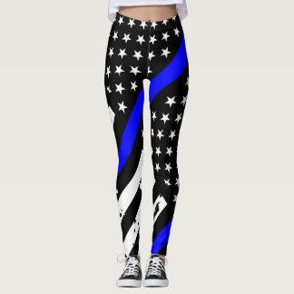 Thin Blue Line Leggings