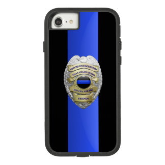 Thin Blue Line - No Greater Love Badge Case-Mate Tough Extreme iPhone 8/7 Case