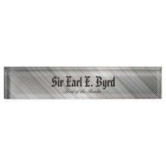 Thin Blue Line - Nobility Name Plate