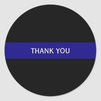 Thin Blue Line Personalized Sticker