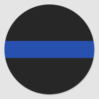 thin blue line police law stickers