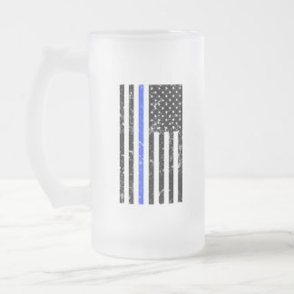 Thin Blue Line - Police Officer - Beer Mug