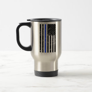 Thin Blue Line - Police Officer - coffee mug