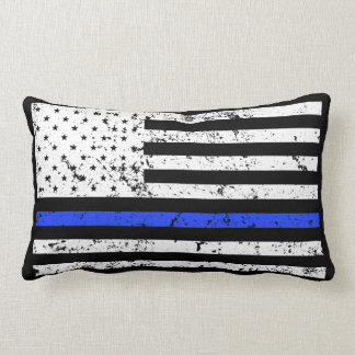 Thin Blue Line - Police Officer Pillow