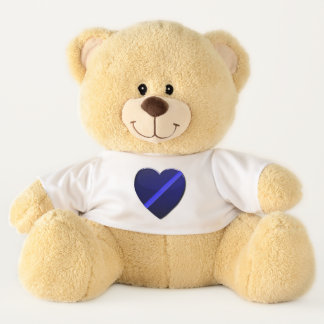 Thin Blue Line Police Teddy Bear