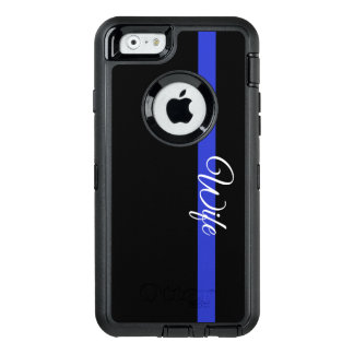 Thin Blue Line: Police Wife Otterbox Iphone 6/6s C OtterBox iPhone 6/6s Case