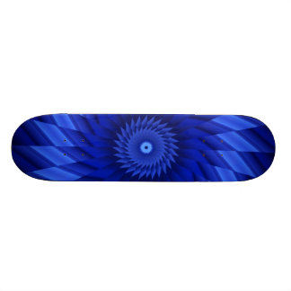 Thin Blue Line Starburst 21.6 Cm Skateboard Deck
