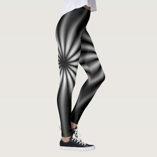Thin Blue Line - Starburst Leggings