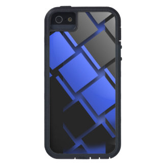 Thin Blue Line Style iPhone 5 Case