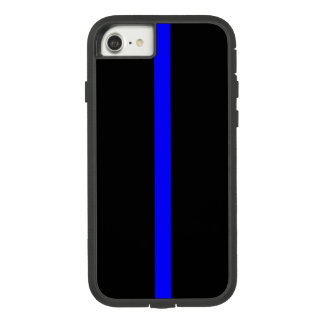 Thin Blue Line Symbol on Case-Mate Tough Extreme iPhone 8/7 Case