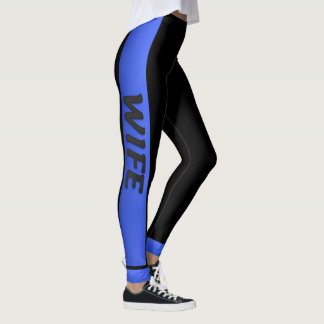 Thin Blue Line - Thin Blue Wife Leggings