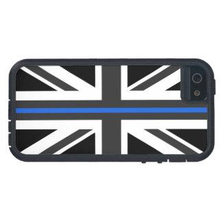 Thin Blue Line UK Flag Tough Xtreme iPhone 5 Case