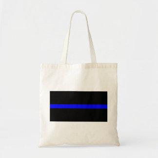 Thin Blue Line - US American United States Emblem Tote Bag