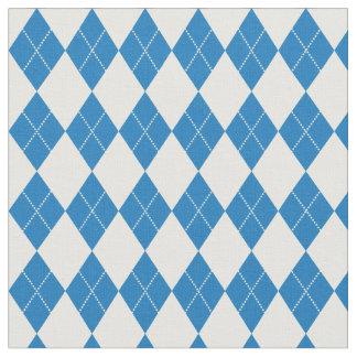 Thin Crossed Diamonds Fabric