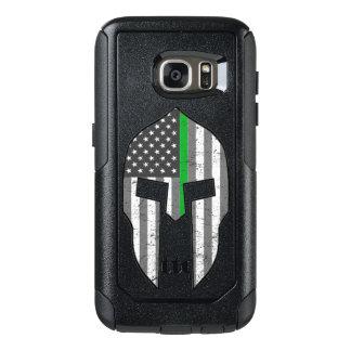 Thin Green Line American Spartan OtterBox Samsung Galaxy S7 Case