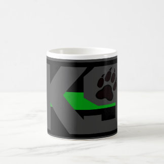 THIN GREEN LINE K9 UNIT FEDERAL AGENT COFFEE MUG