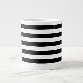 Thin Horizontal Stripes Jumbo Mug