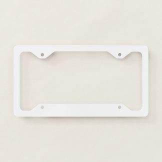 Thin License Frame Plate