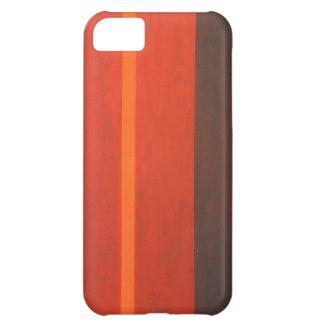 Thin Orange Band geometric minimal expressionism Case For iPhone 5C