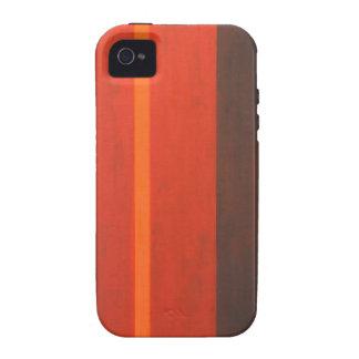 Thin Orange Band geometric minimal expressionism iPhone 4/4S Cover