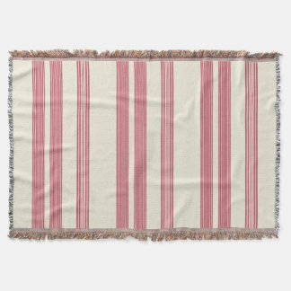 Thin Pink Vertical Stripes Candy Cane Inspired
