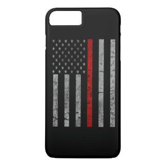 Thin Red Line Flag iPhone 8 Plus/7 Plus Case