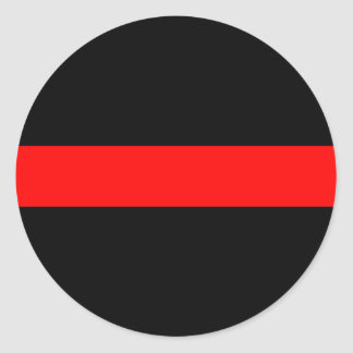 thin red line police law sticker