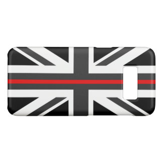 Thin Red Line UK Flag Case-Mate Samsung Galaxy S8 Case
