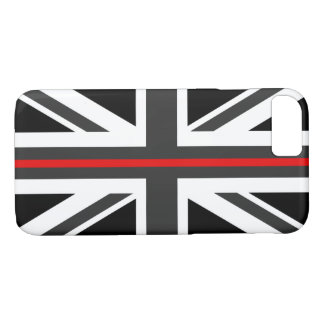 Thin Red Line UK Flag iPhone 8/7 Case