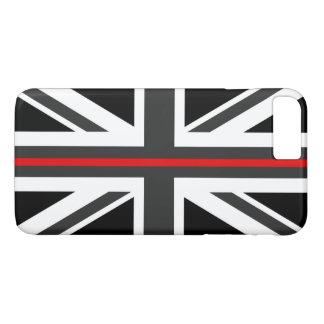 Thin Red Line UK Flag iPhone 8 Plus/7 Plus Case