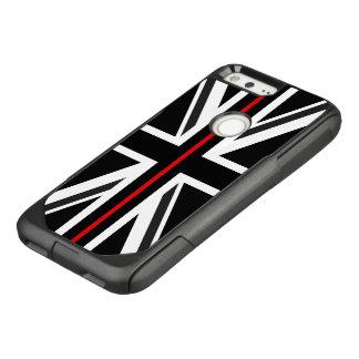 Thin Red Line UK Flag OtterBox Commuter Google Pixel Case