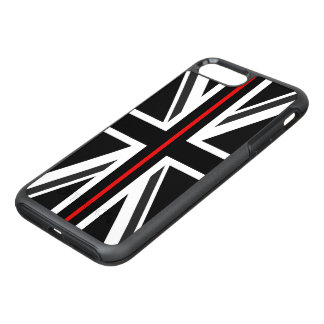 Thin Red Line UK Flag OtterBox Symmetry iPhone 8 Plus/7 Plus Case