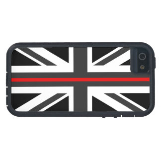Thin Red Line UK Flag Tough Xtreme iPhone 5 Case