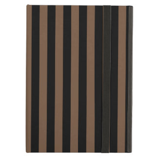 Thin Stripes - Black and Coffee Cover For iPad Air