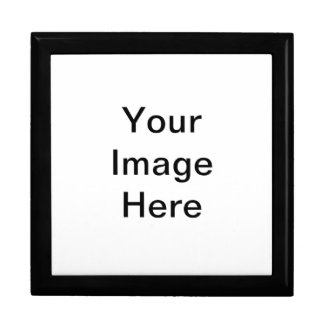 Thin Stripes - Black and Fuchsia Large Square Gift Box