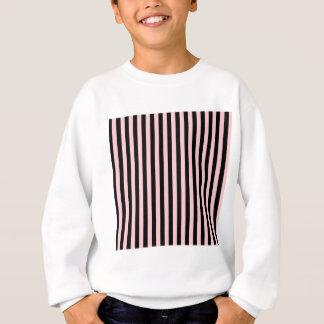 Thin Stripes - Black and Pink Sweatshirt